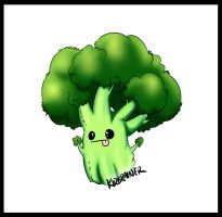 Little Broccoli by kidbrainer