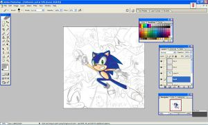 Sonic Desktop by chobitsG