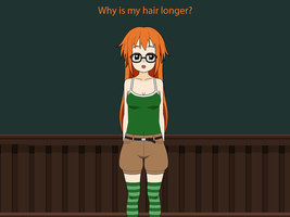Help Christa out!: Longer Hair by Master-TF