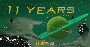 11th Anniversary of Treasure Planet by simpsonsquire