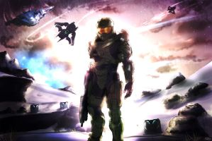 Master Chief by MadsMadnessRage