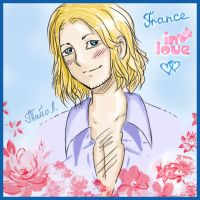 APH: France in Love by Tayo-kun