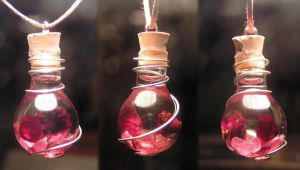 Magic Vial - Red Love by Izile