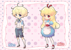 ADOPTABLES03: Wonderland Alice [CLOSED] by resadoptables
