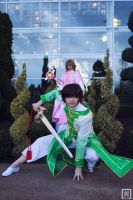 Sakura and Syaoran | Tsubasa Reservoir Chronicles by m-squaredphotography