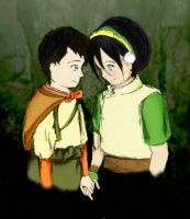 The Duke x Toph by sarinja