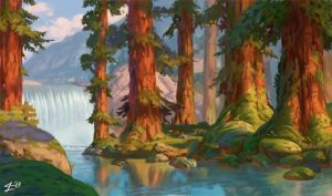 Background (Brother Bear) by SuperJean83