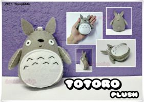 Totoro Plush by SongAhIn