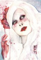Blood Freckled Doll by Shinigami-uta