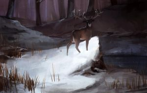 The Deer by iZonbi