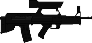 Westinghouse M-25 Phased Plasma Rifle (T2) by Hybrid55555