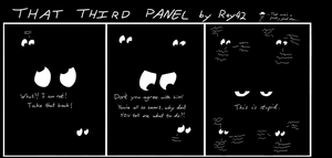 That Third Panel - More Friends #7 by Roy4242