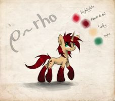 Rho Reference Sheet by Vulpessentia