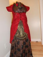 Steam Punk Gown with Coat 2 by LittleMerle