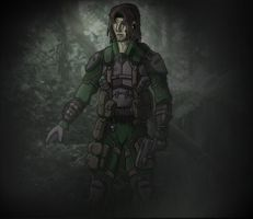OFW Soldier by Cryrid