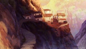 Himalayan Village by autumni