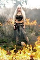 Daenerys Targaryen - The Unburnt by Tarah-Rex