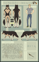 Tenessy Meath - Wolves Of Weston Ref by Esaki
