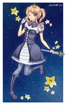 Galaxy Magical Girl Starlight by SweetxSnowxDream