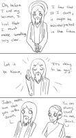 Jesus on homosexuality by EvilCreampuff
