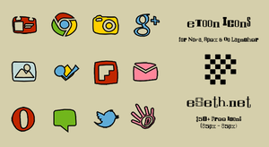 eToon Icon Pack by eSeth.net by gseth