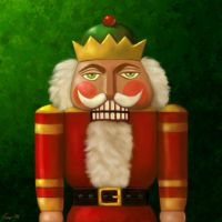 Christmas Nutcracker by Nyrak