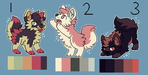 Pixel Mystery Adopts -0/3 CLOSED- by OnyxFur