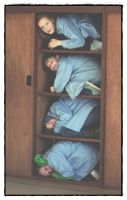 Kids in closet by Stefte