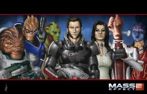 Mass Effect 2 by Darthval