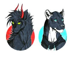 Felines by Anisis