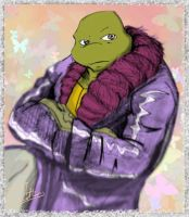 TMNT A Future Donatello in Fur by theblindalley