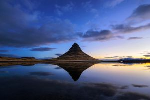 Kirkjufell Reflection by porbital