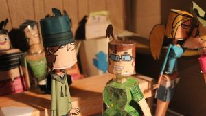 Ezekiel and Beth papercrafts SEE EPISODE 2 NOW by ViluVector
