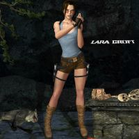 Lara Croft Wallpaper by Lobiply