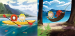 South Park Kenny and Butters by chocolatecherry