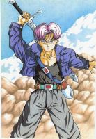 Trunks DBZ Dragonball Z by godaiking