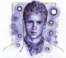 Anakin Skywalker Ballpoint Pen by AngelinaBenedetti