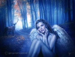 The Lost Angel by Capricuario