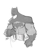 Batman 75 Sketch by Bloodzilla-Billy
