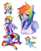 RAINBOWDASH by ReiTuki