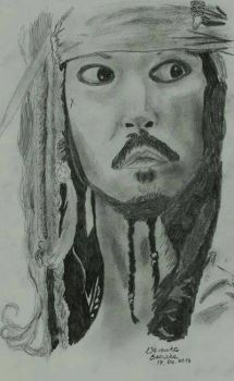 Jack Sparrow - Johnny Depp by MagicalWendyBloom