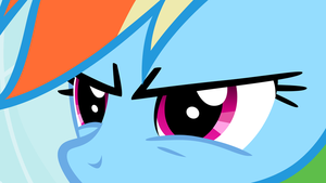 Rainbow Dash Sees What You Did There by CloudshadeZer0
