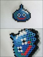 Dragon Warrior Slime bead sprite by 8bitcraft