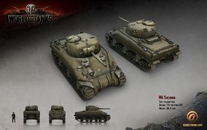 M4 Sherman by jdh92296