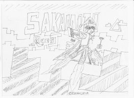 A Game Under Development: Sakamoto Quest Artwork 2 by jesus77755