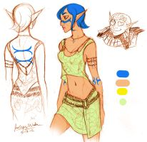 Fiana's New Clothes by MistyTang