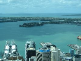 Auckland Harbour by hanovarianx