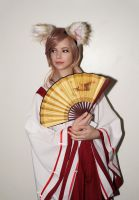 Original Kitsune Miko ALA2017 -Abdella by Abdella-Photo-Art