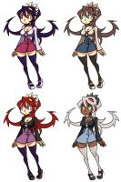 Filia alternate outfits by oh8