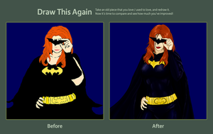 Gotham's Girl REDRAWN by lexophile42